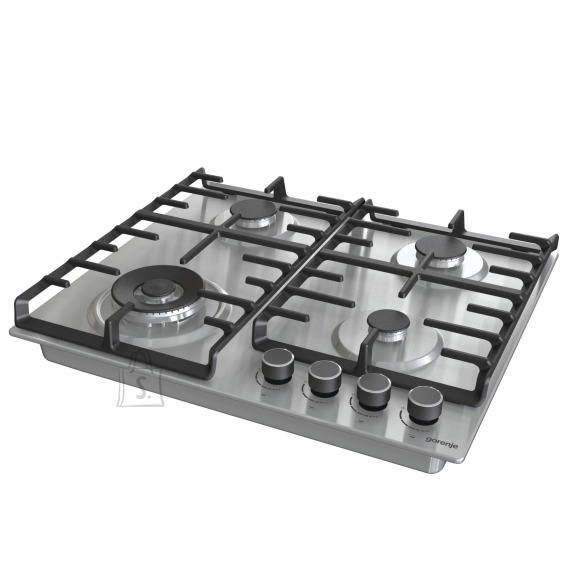 Gorenje Gorenje Hob GW642ABX Gas, Number of burners/cooking zones 4, Mechanical, Stainless steel