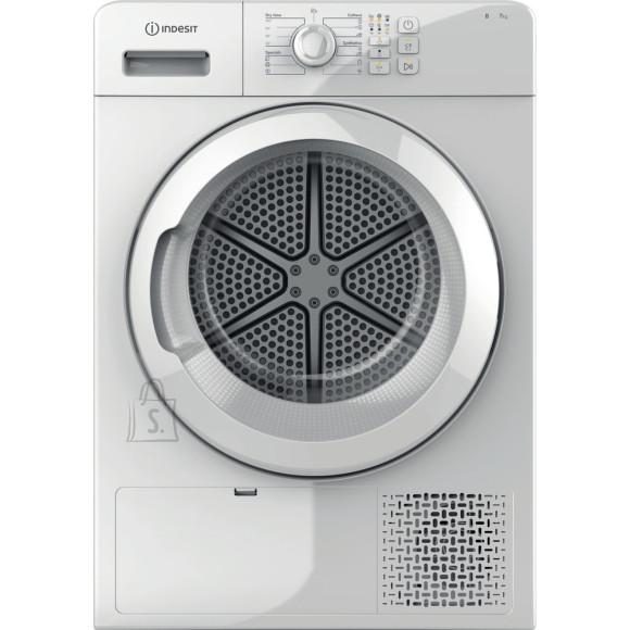 Indesit INDESIT Condenser Dryer YT CM08 7B EU Energy efficiency class B, Front loading, 7 kg, Condensation, LED, Depth 64.9 cm, White