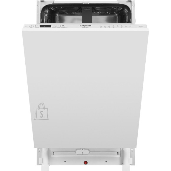 Hotpoint Dishwasher HSIC 3T127 C Built-in, Width 44.8 cm, Number of place settings 10, Number of programs 9, A ++, Display, Silver
