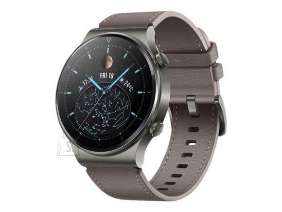 Huawei Huawei GT 2 Pro Smart watch, GPS (satellite), AMOLED, Touchscreen, Heart rate monitor, Activity monitoring 24/7, Waterproof, Bluetooth, Nebula Gray