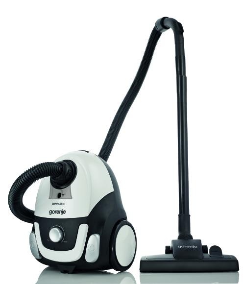 Gorenje Gorenje Vacuum cleaner VCEA11CXWII Bagged, Power 750 W, Dust capacity 2 L, White