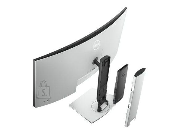 "Dell Dell Curved USB-C Hub Monitor U3421WE 34 "", IPS, WQHD, 3440 x 1440, 21:9, 8 ms, 300 cd/m², Silver"