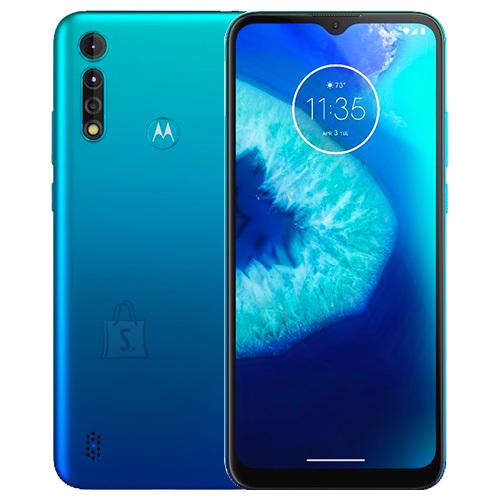 "Motorola Motorola Moto G8 Power Lite Blue, 6.5 "", IPS LCD, 720 x 1600 pixels, Mediatek MT6765 Helio P35, Internal RAM 4 GB, 64 GB, microSD, Dual SIM, Nano-SIM, 3G, 4G, Main camera 16+2+2 MP, Secondary camera 8 MP, Android, 9.0, 5000 mAh"