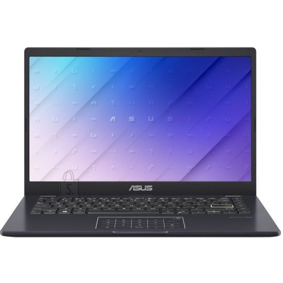 "Asus Asus E410MA Peacock Blue, 14.0 "", HD, 1366 x 768 pixels, Anti-glare, Intel Celeron N, N4020, 4 GB, DDR4 on board, SSD 128 GB, Intel UHD 600, No ODD, Windows 10 Home, 802.11ac, Keyboard language English, Warranty 24 month(s), Battery warranty 12 month(s)"