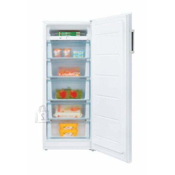 Candy Candy Freezer CMIOUS 5142WH/N Energy efficiency class F, Upright, Free standing, Height 142 cm, Total net capacity 160 L, White