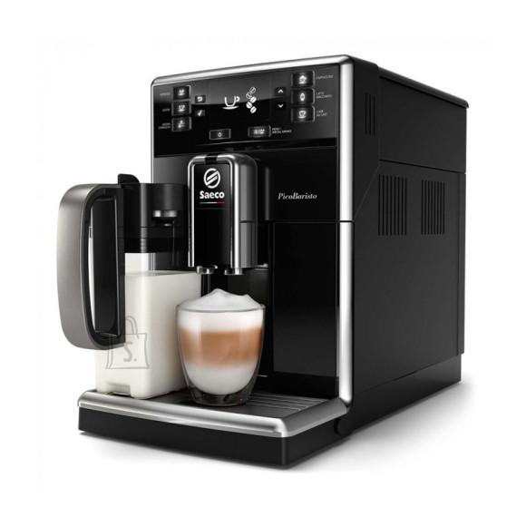 Saeco Saeco PicoBaristo Espresso Machine SM5470/10 Pump pressure 15 bar, Built-in milk frother, Fully Automatic, 1850 W, Black