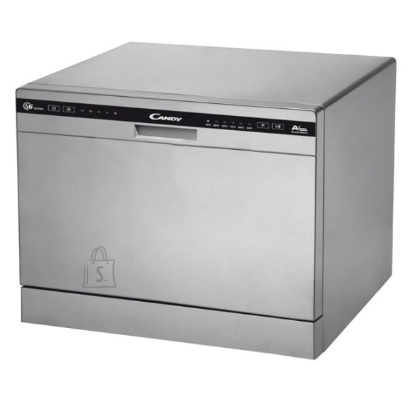 Candy Candy Dishwasher CDCP 6S Table, Width 55 cm, Number of place settings 6, Number of programs 6, Energy efficiency class F, Silver