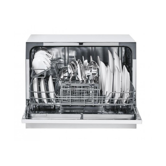 Candy Candy Dishwasher CDCP 6 Free standing, Width 55 cm, Number of place settings 6, Number of programs 6, Energy efficiency class F, White