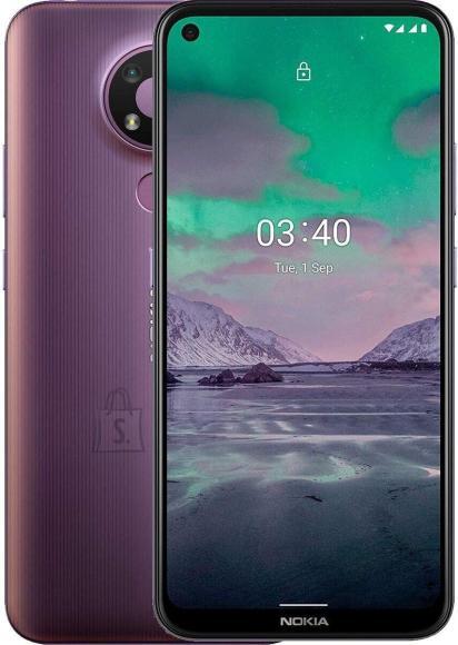 "Nokia Nokia 3.4 TA-1283 6.39 "", Purple, IPS LCD, 720 x 1560 pixels, Qualcomm SM4250 Snapdragon 460, Dual SIM, Nano-SIM, 4.2, Internal RAM 3 GB, 32 GB, MicroSDXC, 3G, 4G, Main camera 13+5+2 MP, Secondary camera 8 MP, Android, 10.0, 4000 mAh"
