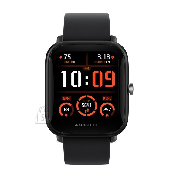 Amazfit Bip U Pro Smart watch, GPS (satellite), HD Color Screen, Touchscreen, Heart rate monitor, Activity monitoring Yes, Waterproof, Bluetooth, Rubber, Silicone, Black