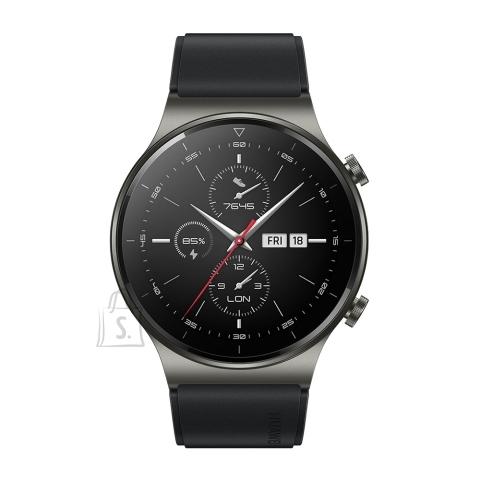 Huawei Huawei GT 2 Pro Smart watch, AMOLED, Touchscreen, Heart rate monitor, Activity monitoring 24/7, Waterproof, Bluetooth, Night Black