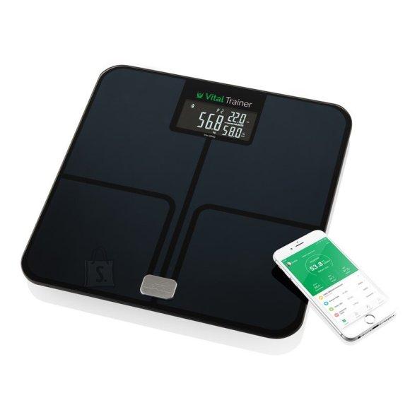 ETA ETA Smart Personal Scale Vital Trainer ETA778090000 Body analyzer, Maximum weight (capacity) 180 kg, Accuracy 100 g, Body Mass Index (BMI) measuring, Black