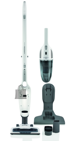 Gorenje Gorenje Vacuum cleaner SVC180FW Cordless operating, Handstick and Handheld, 18 V, Operating time (max) 50 min, White, Warranty 24 month(s), Battery warranty 12 month(s)