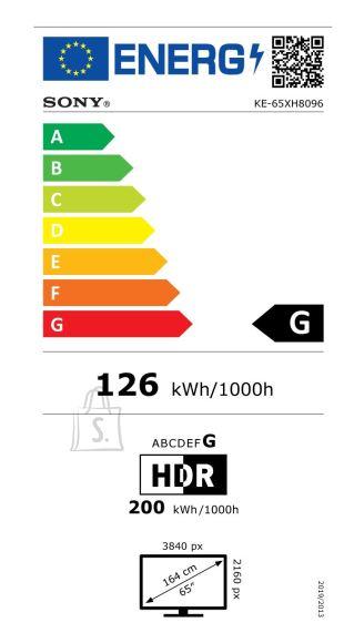 """Sony Sony KE65XH8096 65"""" 4K UHD Smart Android LED TV"""