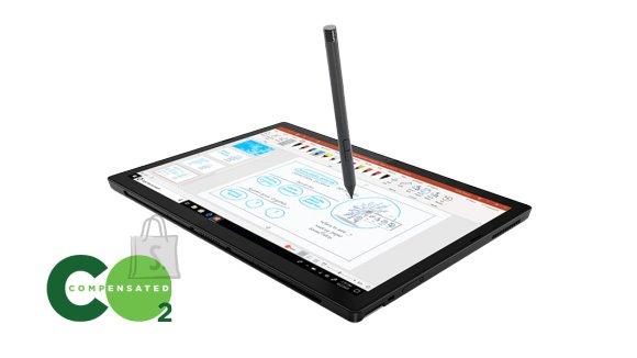 "Lenovo Lenovo ThinkPad X12 Detachable (Gen 1) Black, 12.3 "", IPS, Touchscreen, Full HD, 1920 x 1280, Anti-reflection, Intel Core i5, i5-1130G7, 16 GB, LPDDR4x, SSD 256 GB, Intel Iris Xe, Windows 10 Pro, 802.11ax, Bluetooth version 5.1, Keyboard language Nordic, Keyboard backlit, Warranty 36 month(s)"