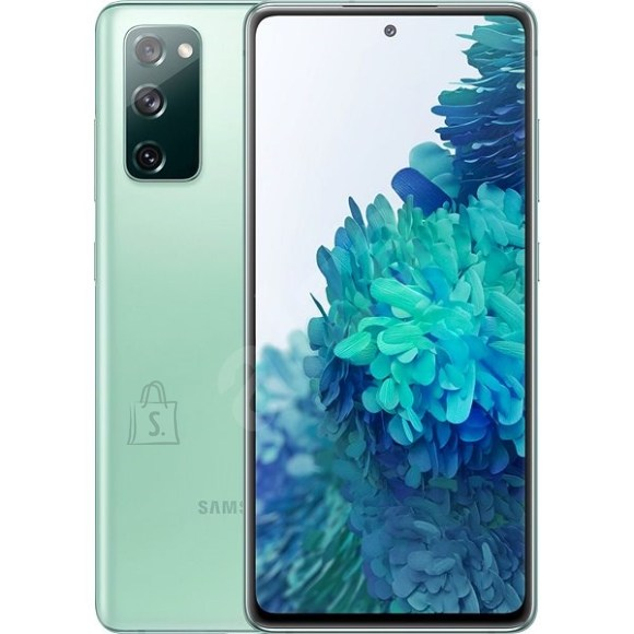 "Samsung Samsung Galaxy S20 FE G780 Mint, 6.5 "", Super AMOLED, 1080 x 2400, Exynos 990, Internal RAM 6 GB, 128 GB, MicroSD, Dual SIM, Nano-SIM, 3G, 4G, Main camera 12+12+8 MP, Secondary camera 32 MP, Android, 10, 4500 mAh"