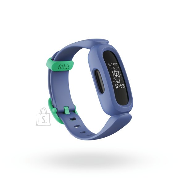 Fitbit Fitbit Ace 3 Fitness tracker, OLED, Touchscreen, Waterproof, Bluetooth, Cosmic Blue/Astro Green
