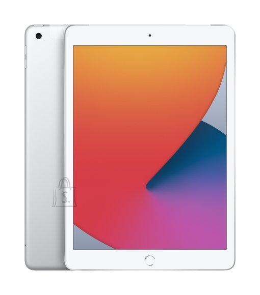 "Apple Apple 8th Gen (2020) iPad Wi-Fi + Cellular 10.2 "", Silver, Retina touch screen with IPS, Apple A12 Bionic, 3 GB, 32 GB, 4G, Wi-Fi, Front camera, 1.2 MP, Rear camera, 8 MP, Bluetooth, 4.2, iOS,  2160 x 1620  pixels"