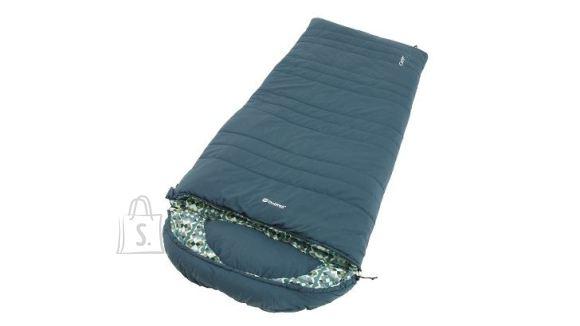Outwell Outwell Camper L, Sleeping Bag - Left Zipper, 235 x 90 cm, YKK 2-way L-shape open-end with auto lock, Blue