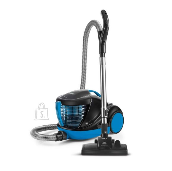 Polti Polti Vacuum cleaner Forzaspira Lecologico Aqua Allergy Turbo Care With water filtration system, Bagless, Wet suction, Power 850 W, Dust capacity 1 L, Black/Blue