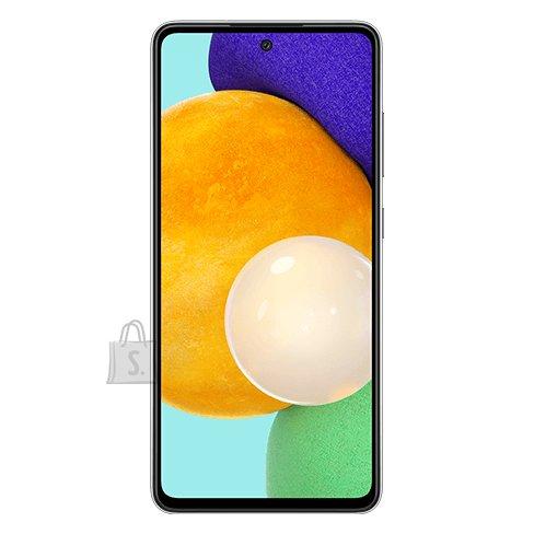 "Samsung Samsung Galaxy A52 A525 Black, 6.5 "", Super AMOLED, 1080 x 2400, Qualcomm SM7125 Snapdragon 720G, Internal RAM 6 GB, 128 GB, MicroSD, Dual SIM, Nano-SIM, 3G, 4G, Main camera 64+12+5+5 MP, Secondary camera 32 MP, Android, 11, 4500 mAh"