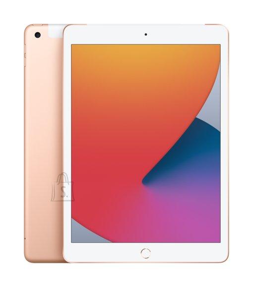 "Apple Apple 8th Gen (2020) iPad Wi-Fi + Cellular 10.2 "", Gold, Retina touch screen with IPS, Apple A12 Bionic, 3 GB, 32 GB, 4G, Wi-Fi, Front camera, 1.2 MP, Rear camera, 8 MP, Bluetooth, 4.2, iOS,  2160 x 1620  pixels"