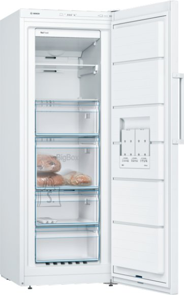 Bosch Bosch Freezer GSN29VW3P Upright, Height 161 cm, Total net capacity 200 L, A++, Freezer number of shelves/baskets 6, White, No Frost system, Free standing
