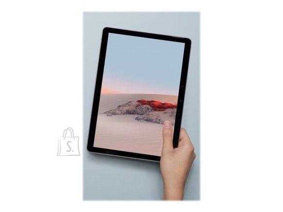 "Microsoft Microsoft Surface Go 2 Platinum, 10.5 "", Touchscreen, 1920 x 1280 pixels, Intel Core M3, M3, 8 GB, SSD 128 GB, Intel UHD 615, No ODD, Windows 10 Home in S mode, 802.11a/b/g/n/ac/ax, Bluetooth version 5.0, Warranty 24 month(s)"