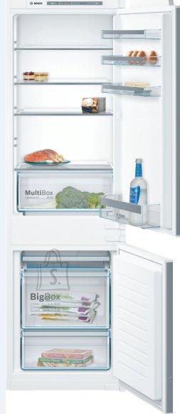 Bosch Bosch Serie 4 Refrigerator KIV86VSF0 Energy efficiency class F, Built-in, Combi, Height 177.2 cm, Fridge net capacity 192 L, Freezer net capacity 76 L, 38 dB, White