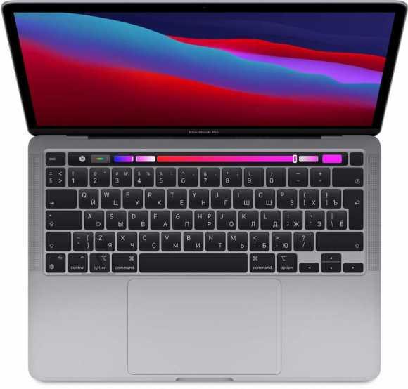 "Apple MacBook Pro 13.3"" Apple M1 8C CPU, 8C GPU/8GB/256GB SSD/Space Gray/INT"