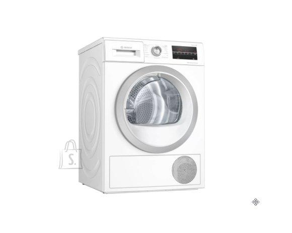 Bosch Bosch Dryer mashine WTW85T9SSN Energy efficiency class A++, Front loading, 9 kg, Sensitive dry, LED, Depth 60 cm, White