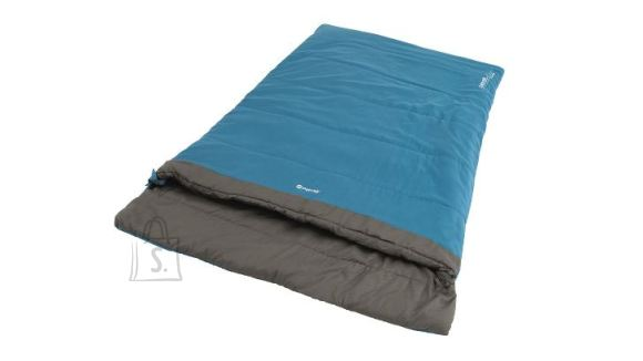 Outwell Outwell Celebration Lux Double, Sleeping Bag, 225 x 140 cm,  2 way open - auto lock, L-shape, Blue