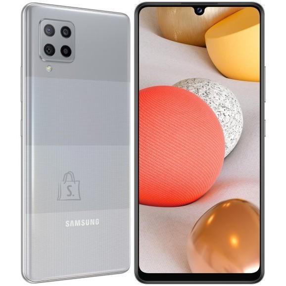 "Samsung Samsung Galaxy A42 5G Grey, 6.6 "", Super AMOLED, 720 x 1600, Qualcomm SM7225 Snapdragon 750 5G, Internal RAM 4 GB, 128 GB, MicroSD, Dual SIM, Nano-SIM, 3G, 4G, 5G, Main camera 48+8+5+5 MP, Secondary camera 20 MP, Android, 10, 5000 mAh"