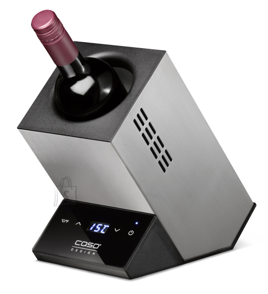 Caso Caso Wine cooler for one bottle WineCase One Free standing, Bottles capacity 1, Inox