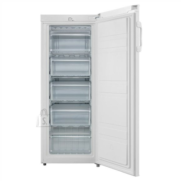 Goddess Goddess Freezer GODFSD0142TW8AF Energy efficiency class F, Free standing, Upright, Height 142 cm, Total net capacity 160 L, White