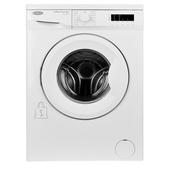 Goddess Goddess Washing machine GODWFE1035M9SD Energy efficiency class D, Front loading, Washing capacity 5 kg, 1000 RPM, Depth 41.6  cm, Width 59.7 cm, White, Free standing