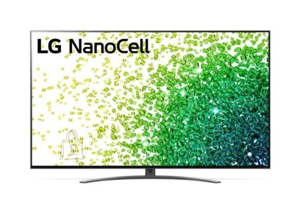 "LG LG 65NANO863PA 65"" (164 cm), Smart TV, WebOS, 4K UHD Nanocell, 3840 x 2160, Wi-Fi, DVB-T/T2/C/S/S2, Black"