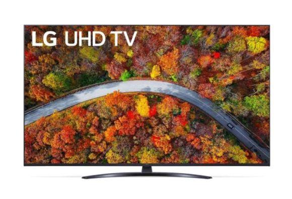 "LG LG 65UP81003LA  65"" (164 cm), Smart TV, WebOS, 4K UHD, 3840 x 2160, Wi-Fi, DVB-T/T2/C/S/S2, Dark grey"