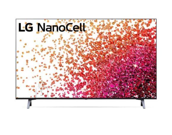 "LG LG 43NANO753PA  43"" (109 cm), Smart TV, WebOS, 4K UHD Nanocell, 3840 x 2160, Wi-Fi, DVB-T/T2/C/S/S2, Black"