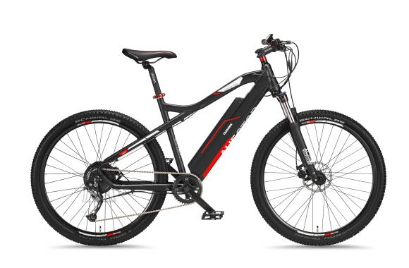 "Telefunken Telefunken Aufsteiger M920, MTB E-Bike, Motor power 250 W, Wheel size 27.5 "", Warranty 24 month(s), Anthracite/Red"