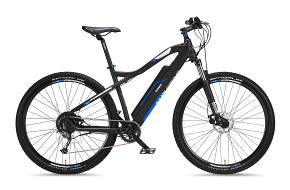 "Telefunken Telefunken Aufsteiger M920, MTB E-Bike, Motor power 250 W, Wheel size 29 "", Warranty 24 month(s), Anthracite/Blue"