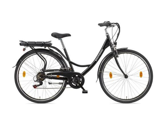 """Telefunken Telefunken Senne, City E-Bike, Motor power 250 W, Wheel size 28 """", Warranty 24 month(s), Black"""
