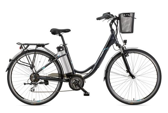 """Telefunken Telefunken Multitalent RC860, City E-Bike, Motor power 250 W, Wheel size 28 """", Warranty 24 month(s), Anthracite"""