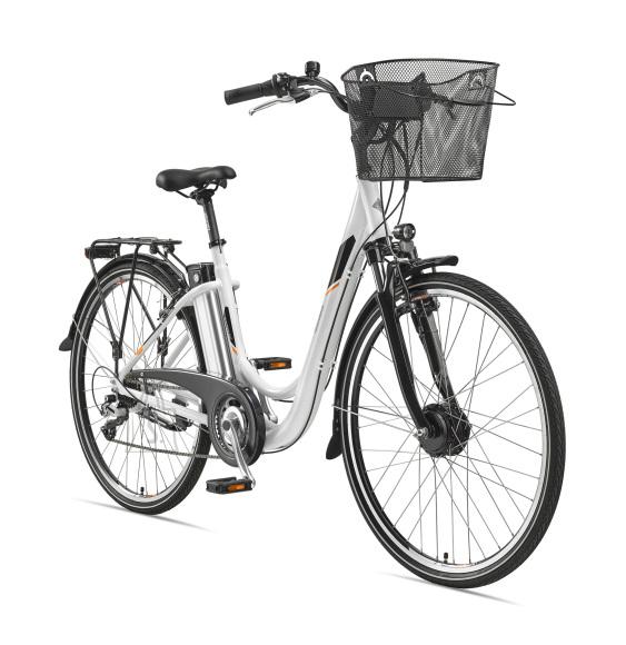 """Telefunken Telefunken Multitalent RC820, City E-Bike, Motor power 250 W, Wheel size 28 """", Warranty 24 month(s), White"""