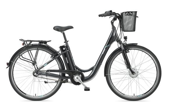 """Telefunken Telefunken Multitalent RC830, City E-Bike, Motor power 250 W, Wheel size 28 """", Warranty 24 month(s), Anthracite"""