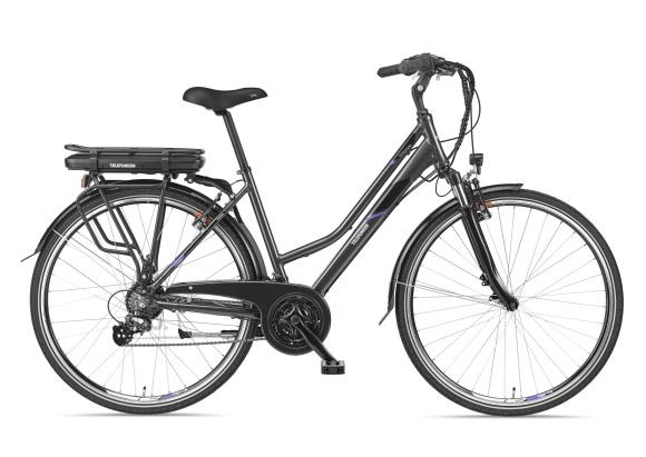 "Telefunken Telefunken Expedition XT480, Trekking E-Bike, Motor power 250 W, Wheel size 28 "", Warranty 24 month(s), Anthracite"