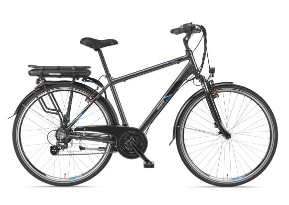 "Telefunken Telefunken Expedition XT481, Trekking E-Bike, Motor power 250 W, Wheel size 28 "", Warranty 24 month(s), Anthracite"