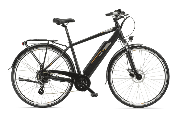 "Telefunken Telefunken Expedition XC921, Trekking E-Bike, Motor power 250 W, Wheel size 28 "", Warranty 24 month(s), Anthracite"