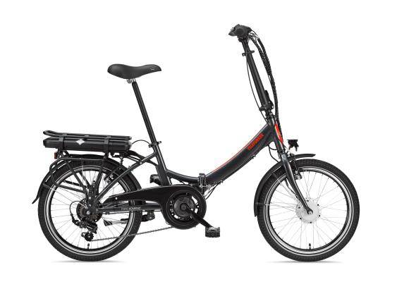 """Telefunken Telefunken Kompakt F810, Folding E-Bike, Motor power 250 W, Wheel size 20 """", Warranty 24 month(s), Anthracite"""