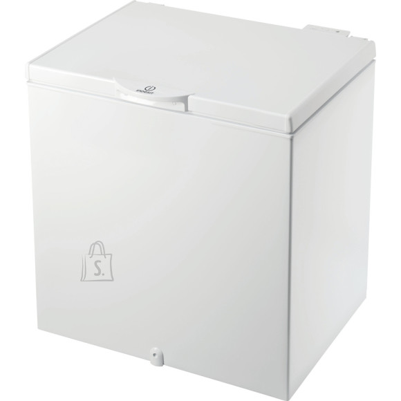 Indesit INDESIT Freezer OS 1A 200 H Energy efficiency class F, Chest, Free standing, Height 86.5 cm, Total net capacity 202 L, White